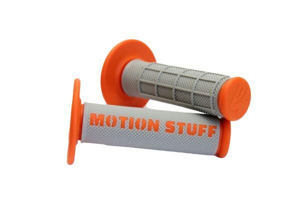 Obrázek produktu Motokrosové rukojeti supersoft MOTION STUFF Šedo/Oranžová