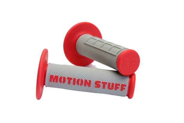 Obrázek produktu Motokrosové rukojeti supersoft MOTION STUFF Šedo/červené