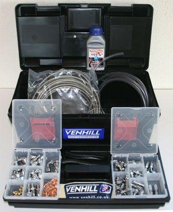 Obrázek produktu Dealer kit Venhill POWERHOSE chrom -3DLRC