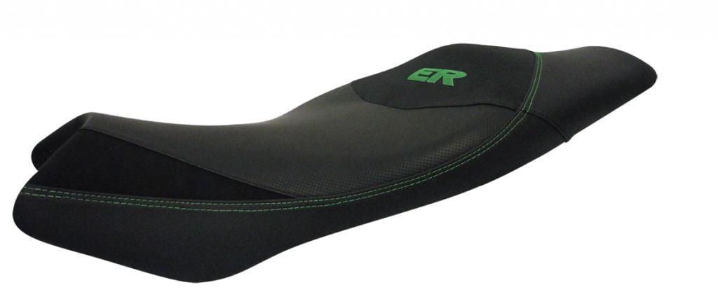 Obrázek produktu Komfortní sedlo SHAD černé, zelené švy SHK0E6107
