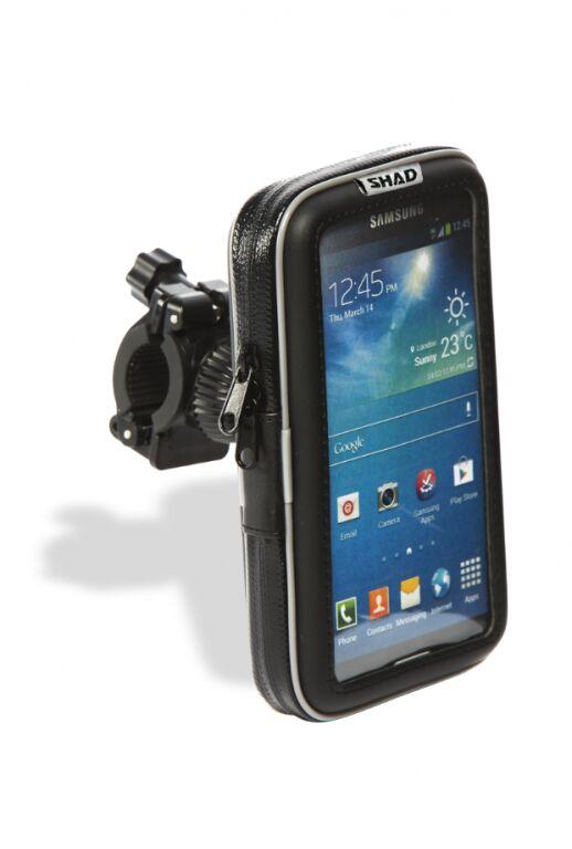 """Obrázek produktu Držák na chytré telefony SHAD na řídítka 4,3"""" X0SG10H"""