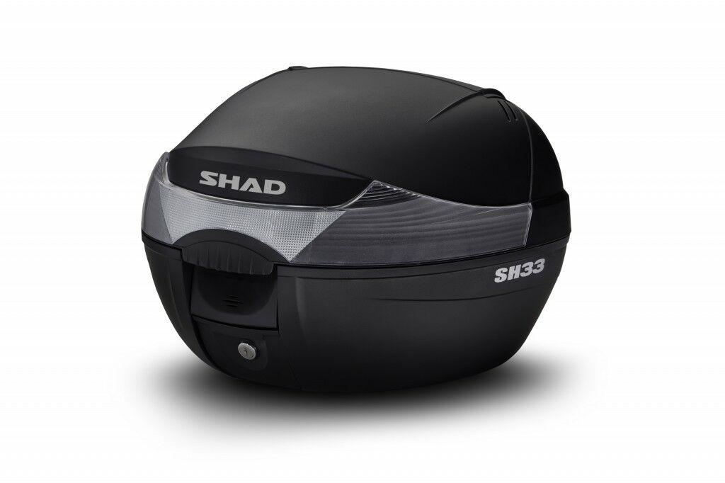 Obrázek produktu Vrchní kufr na motorku SHAD SH33 černá