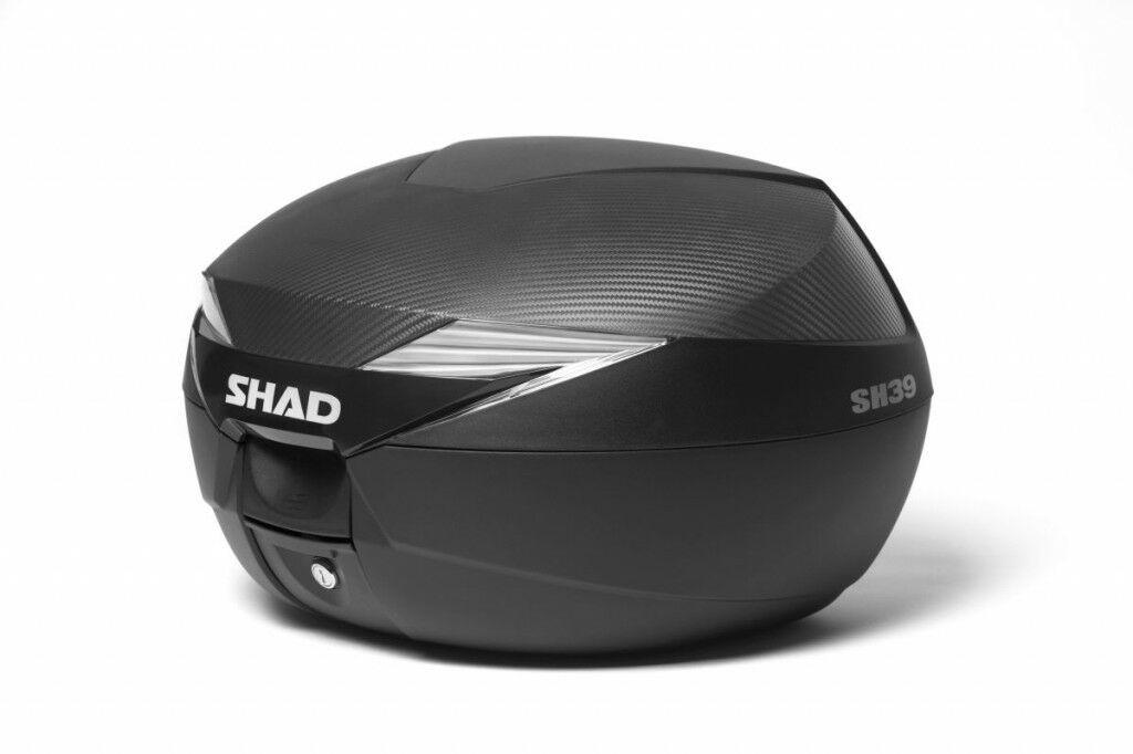 Obrázek produktu Vrchní kufr na motorku SHAD SH39 karbon