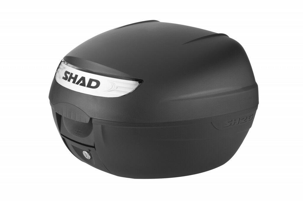 Obrázek produktu Vrchní kufr na motorku SHAD SH26 černá
