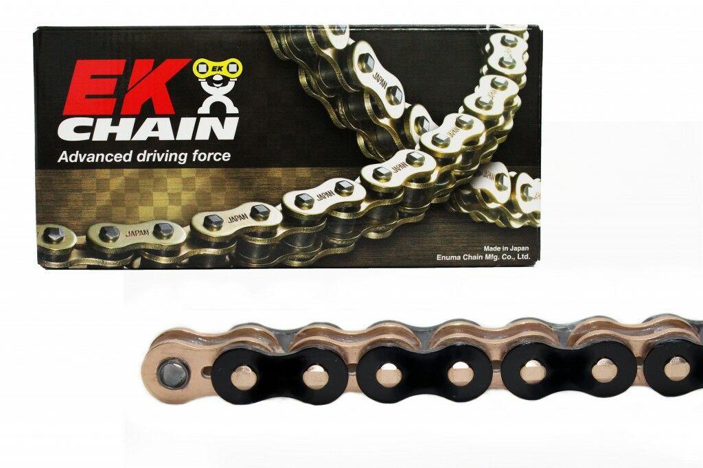 Obrázek produktu QX-kroužkový řetěz OEM kvality EK 530 MVXZ2 108 L černý/zlatý/zlatý