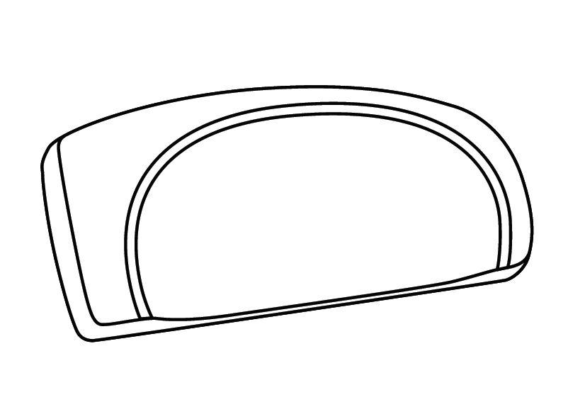 Opěrka SHAD pro  ATV110/ATV80/SH46