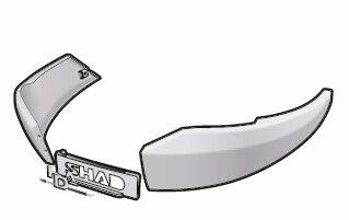 Obrázek produktu Boční nárazník SHAD nový titan pro SH48 D1B482EMR
