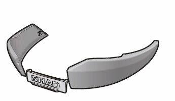 Obrázek produktu Boční nárazník SHAD tmavě šedý pro SH48 D1B481EMR