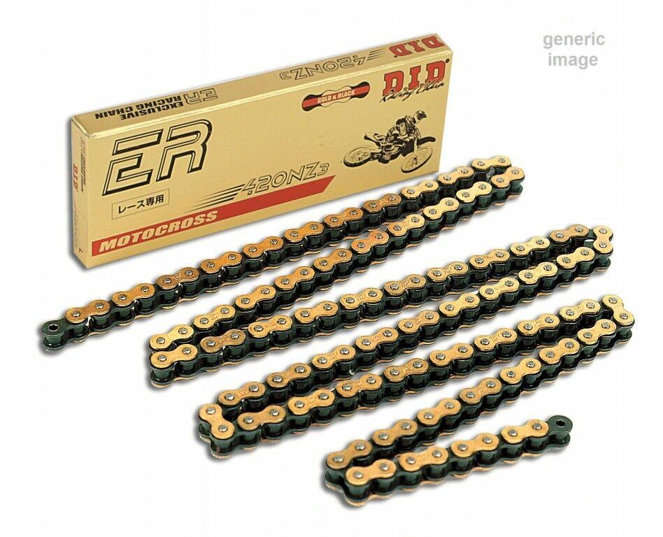 Obrázek produktu Zesílený netěsněný řetěz D.I.D Chain 420NZ3 SDH 140 L Zlatá/Černá