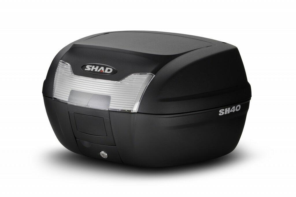 Obrázek produktu Vrchní kufr na motorku SHAD SH40 černý