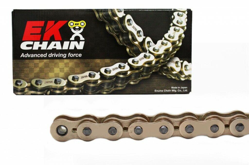 Obrázek produktu NX-kroužkový řetěz převyšující OEM kvalitu EK 530 ZVX3 114 L Zlatá/Zlatá, NOVÁ GENERACE 2015