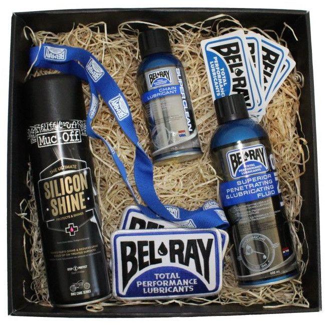 """Obrázek produktu Dárkový balíček """"Údržba motorky"""" Bel-Ray"""