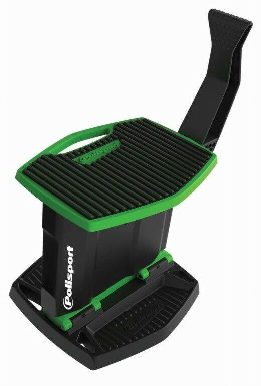 Obrázek produktu Zvedací stojan pod motorku POLISPORT zelená/černá