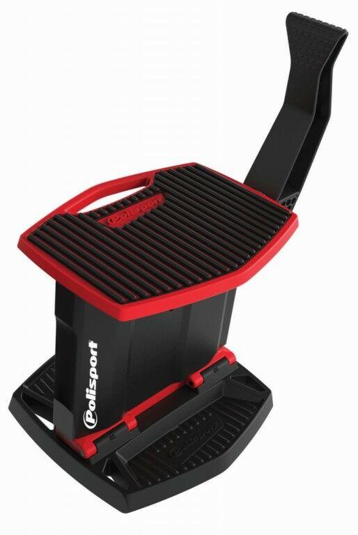 Obrázek produktu Zvedací stojan pod motorku POLISPORT červeno/černá