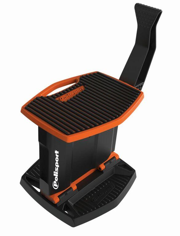 Obrázek produktu Zvedací stojan pod motorku POLISPORT oranžovo KTM/černá