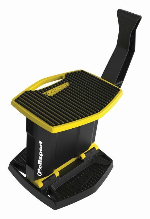 Obrázek produktu Zvedací stojan pod motorku POLISPORT žluto RM 01/černá