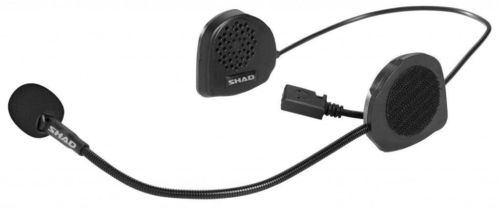 Obrázek produktu Hands free sada SHAD BC02 telefon / GPS / hudba X0BC02