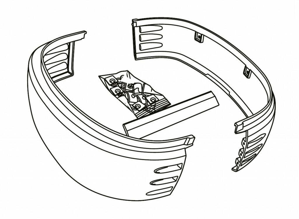 Obrázek produktu Boční nárazník SHAD pro SH49 D1B49EMR