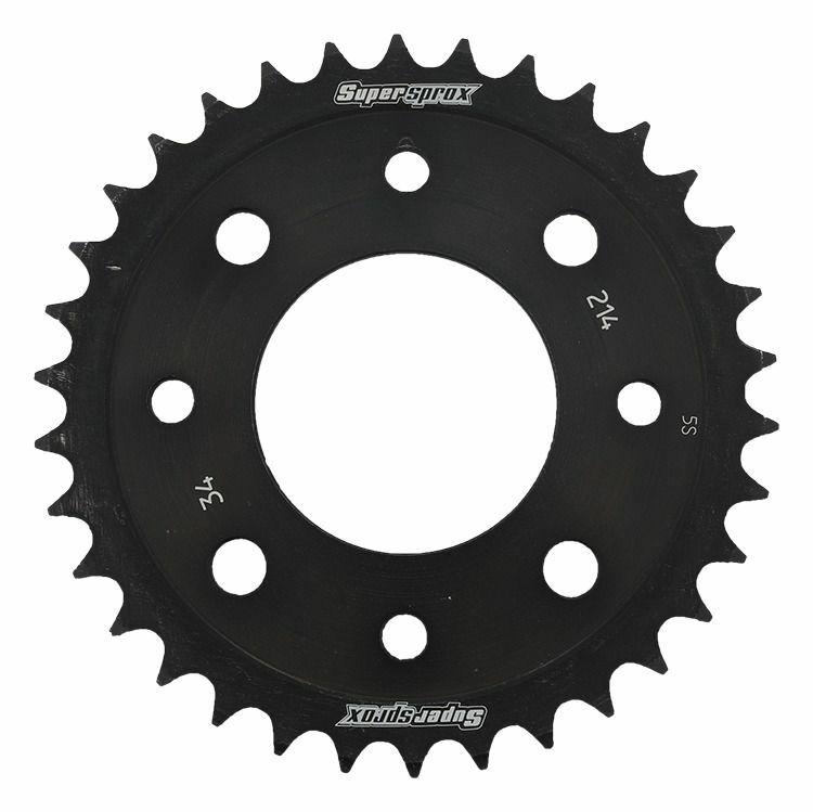 Obrázek produktu Řetězová rozeta SUPERSPROX černý 34 zubů, 420