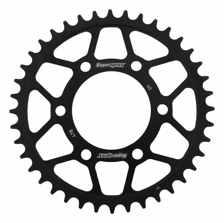Obrázek produktu Řetězová rozeta SUPERSPROX černý 40 zubů, 520