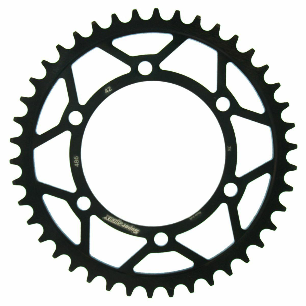 Obrázek produktu Řetězová rozeta SUPERSPROX černý 42 zubů, 520