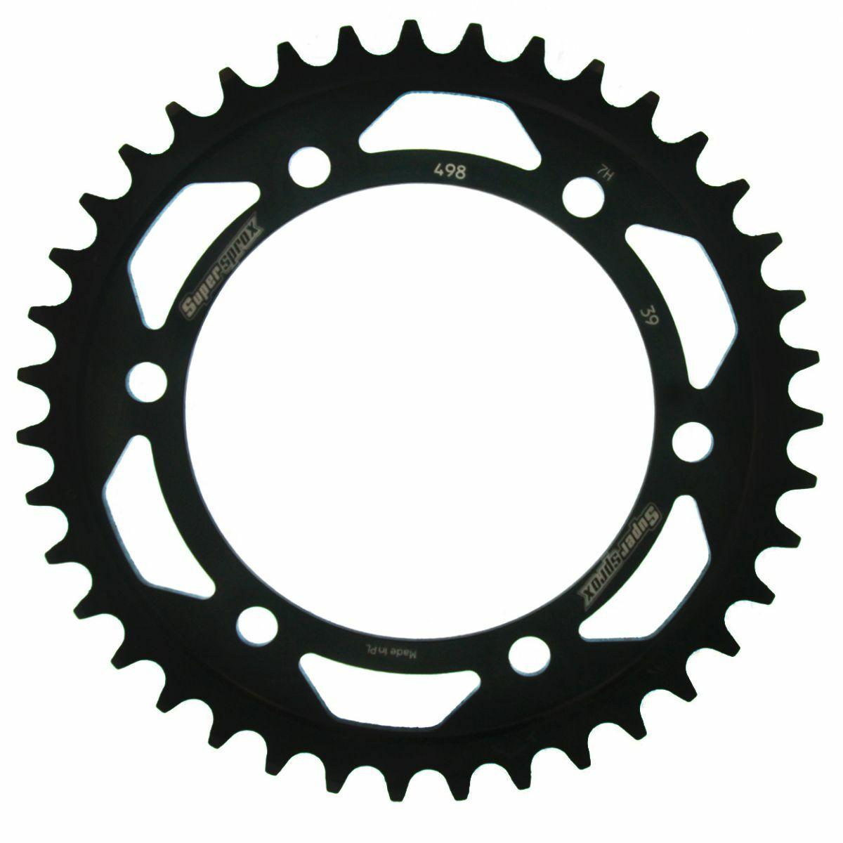 Obrázek produktu Řetězová rozeta SUPERSPROX černý 39 zubů, 525
