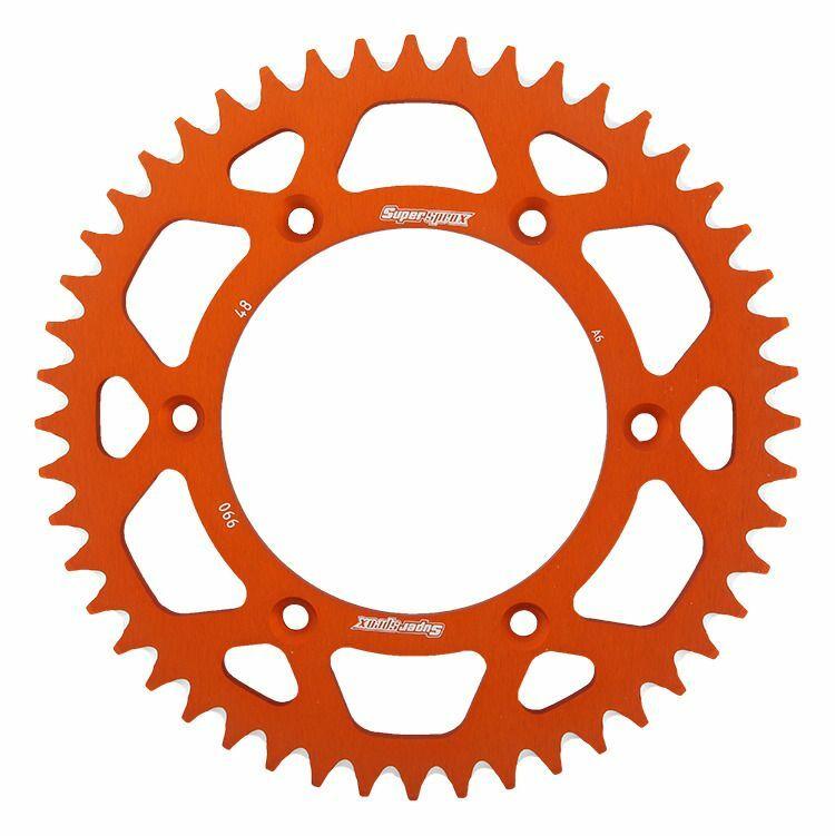 Obrázek produktu Hliníková řetězová rozeta SUPERSPROX oranžová 48 zubů, 520