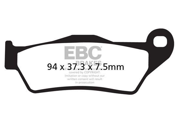 Obrázek produktu Brzdové destičky EBC Levý/pravý; F 850 GS