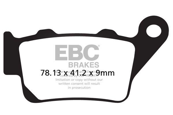 Obrázek produktu Brzdové destičky EBC Pravý