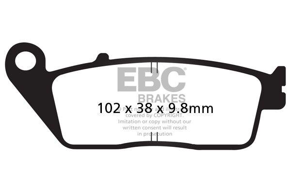 Obrázek produktu Brzdové destičky EBC Levý