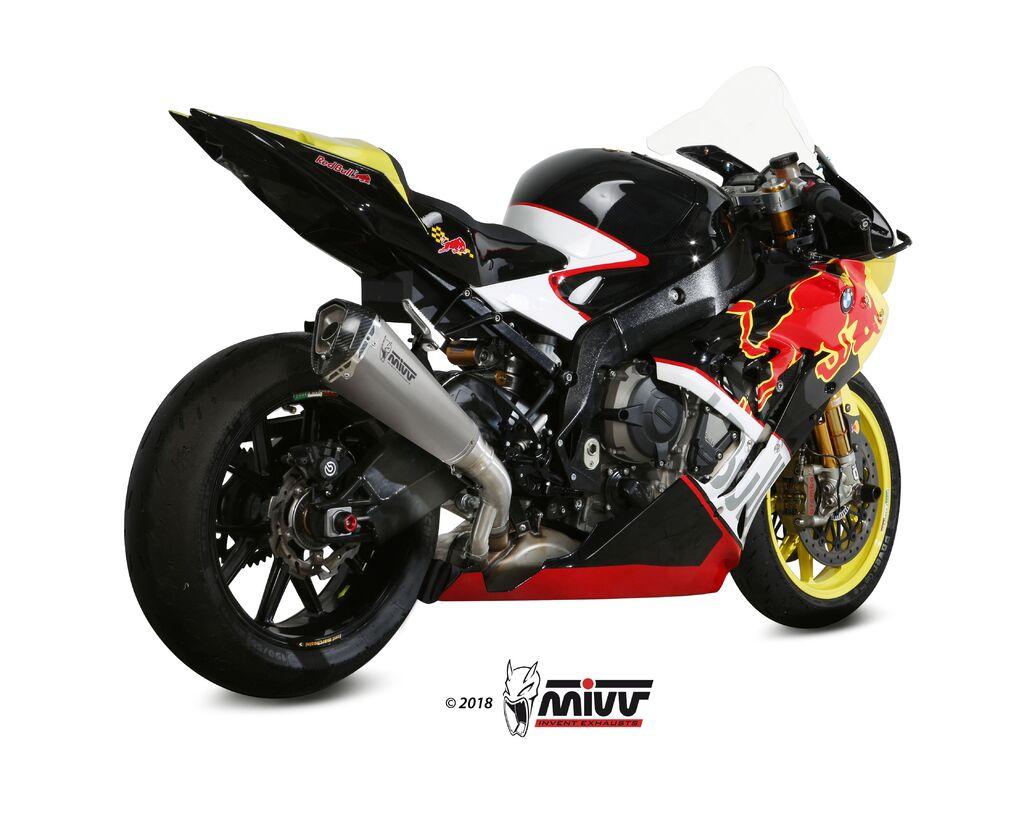 Koncovka výfuku MIVV DELTA RACE Nerez / Karbonové víčko BUELL XB12STT 1200 Lightning Super 2007-2008-2