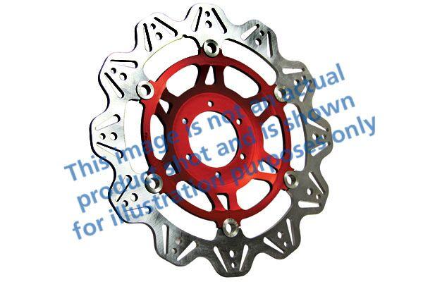 Obrázek produktu Brzdový kotouč EBC červená Levý/pravý