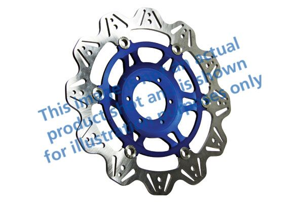 Obrázek produktu Brzdový kotouč EBC modrá Levý/pravý