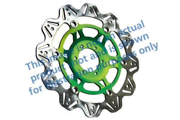 Obrázek produktu Brzdový kotouč EBC zelená Levý/pravý