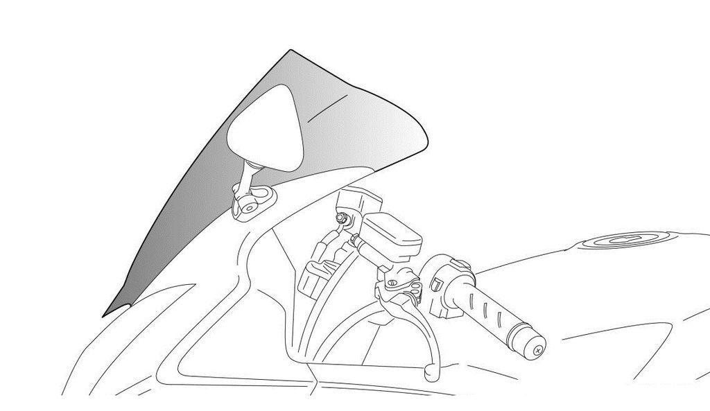 Obrázek produktu Plexi štít PUIG RACING kouřová 0283H