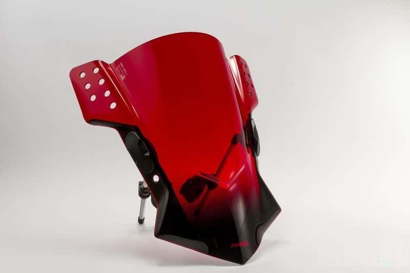 Obrázek produktu Plexi štít PUIG RAFALE červená