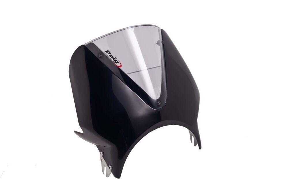 Obrázek produktu Plexi štít PUIG RETROVISIONS matná černá kouřová 003NH