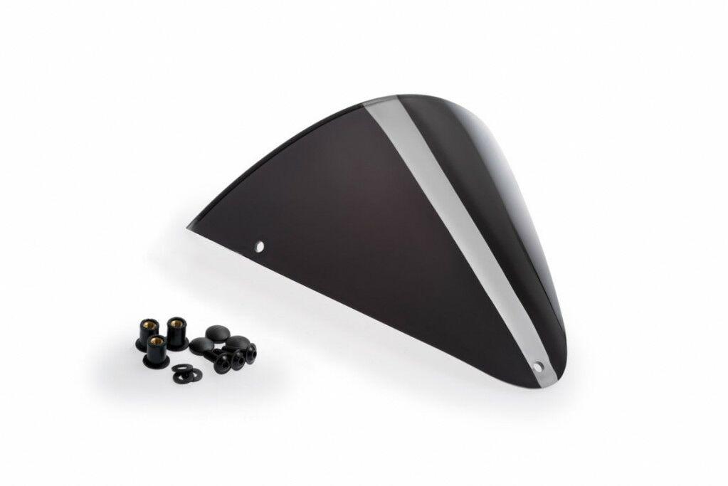 Obrázek produktu Náhradní plexi štít PUIG RETROVISIONS tmavá kouřová 1517F