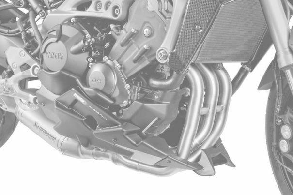 Obrázek produktu Spoiler motoru PUIG karbonový vzhled včetně samolepek 7692C