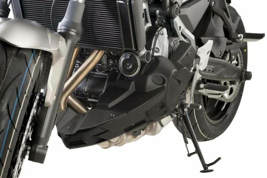 Obrázek produktu Spoiler motoru PUIG karbonový vzhled včetně samolepek 9589C