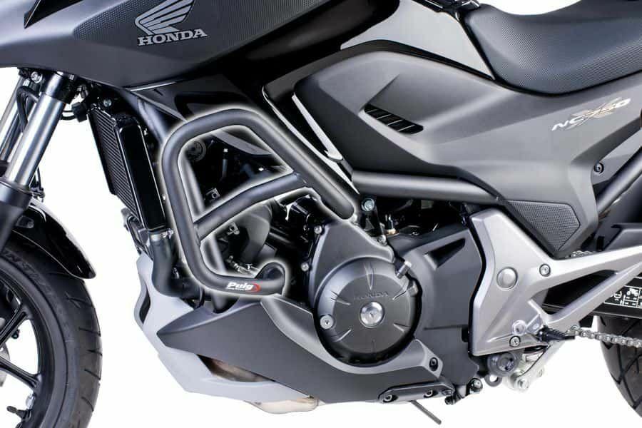 Obrázek produktu Ochranné rámy motoru PUIG d 25mm černý 6387N