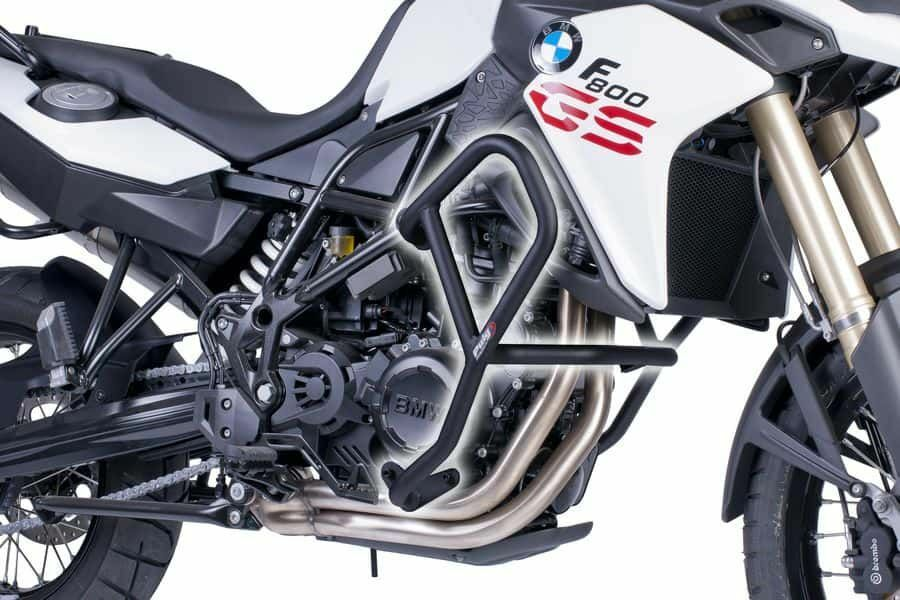 Obrázek produktu Ochranné rámy motoru PUIG d 25mm černý 6537N