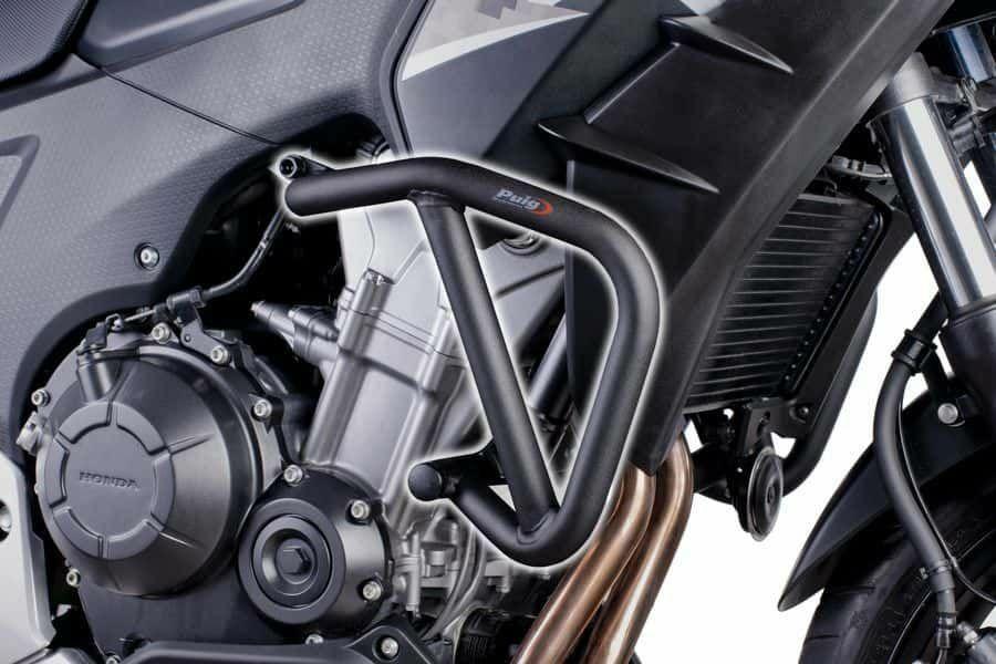 Obrázek produktu Ochranné rámy motoru PUIG d 25mm černý 6539N