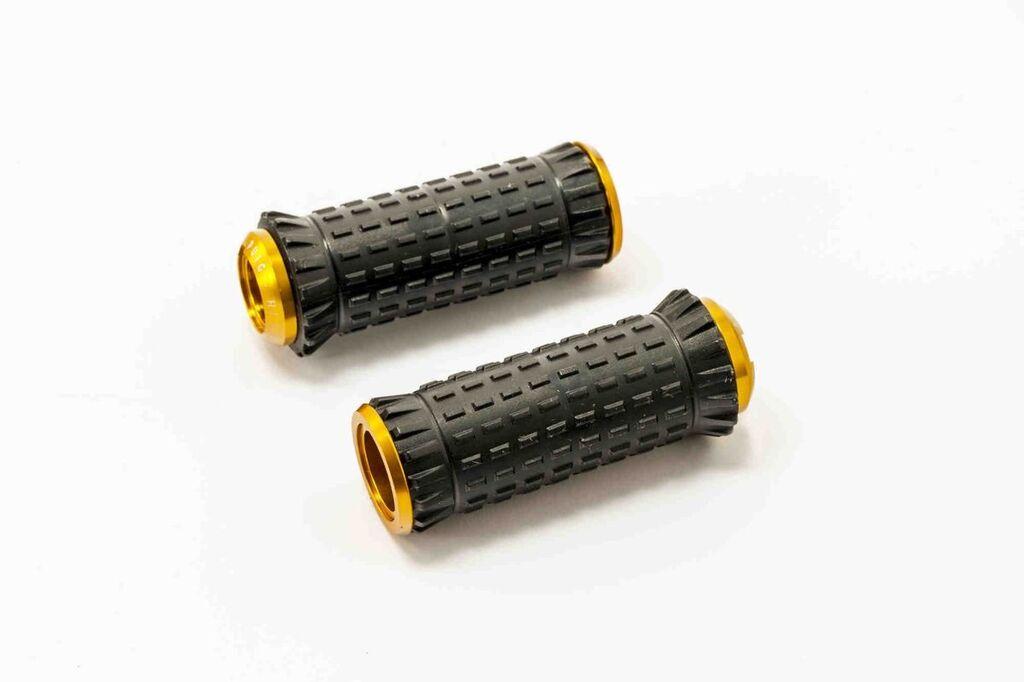 Obrázek produktu Stupačky bez adaptérů PUIG R-FIGHTER S zlatá