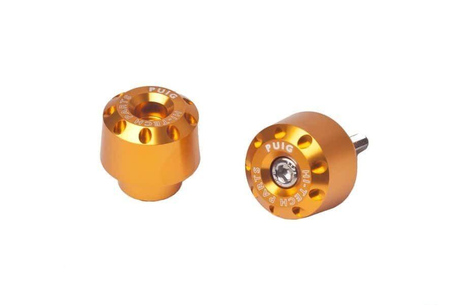 Obrázek produktu Závažíčka řidítek PUIG SHORT zlatá