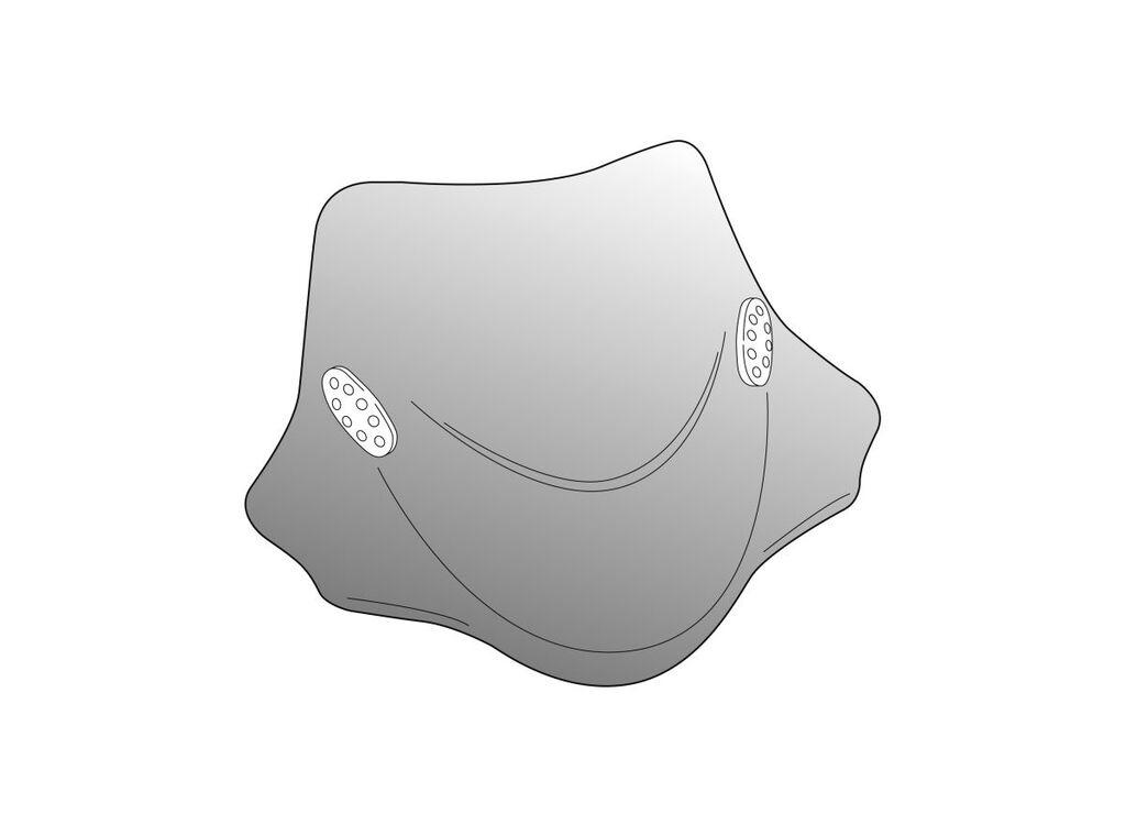 Obrázek produktu Plexi štít PUIG CITY SPORT kouřová univerzální 0661H