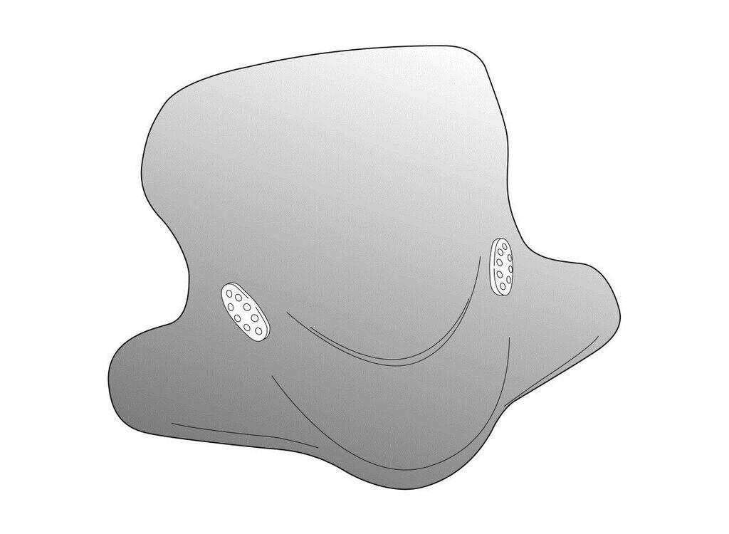 Obrázek produktu Plexi štít PUIG CITY TOURING kouřová 1003H