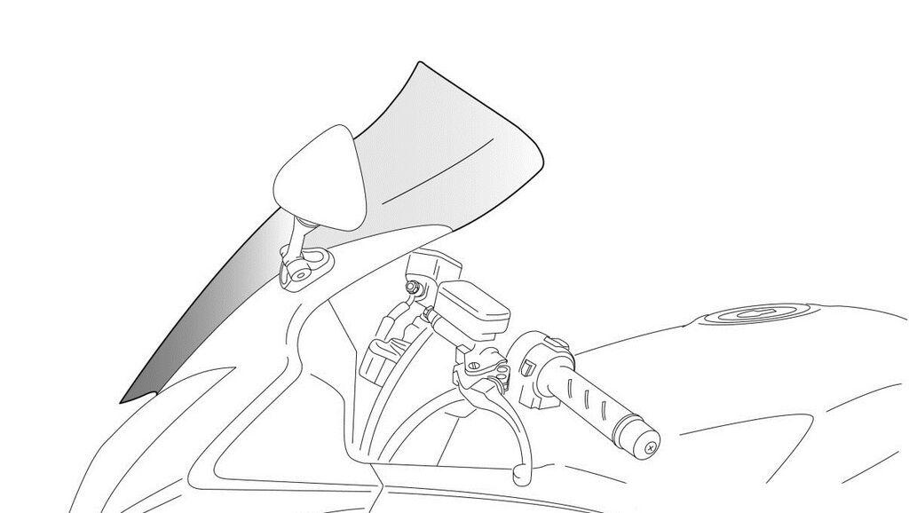 Obrázek produktu Plexi štít PUIG TOURING kouřová