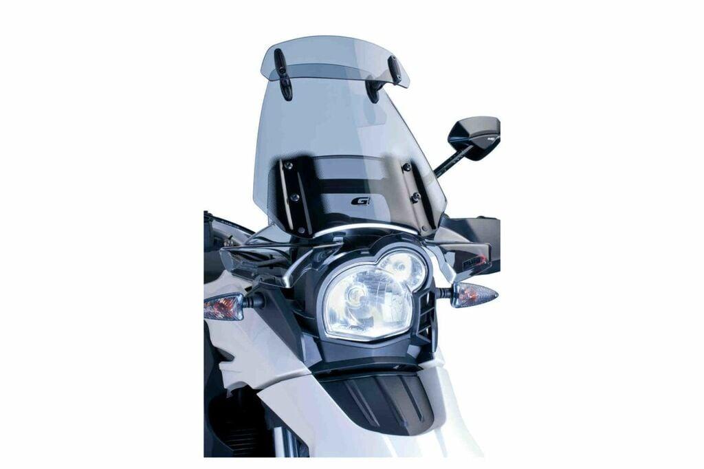 Obrázek produktu Plexi štít PUIG TOURING WITH VISOR kouřová