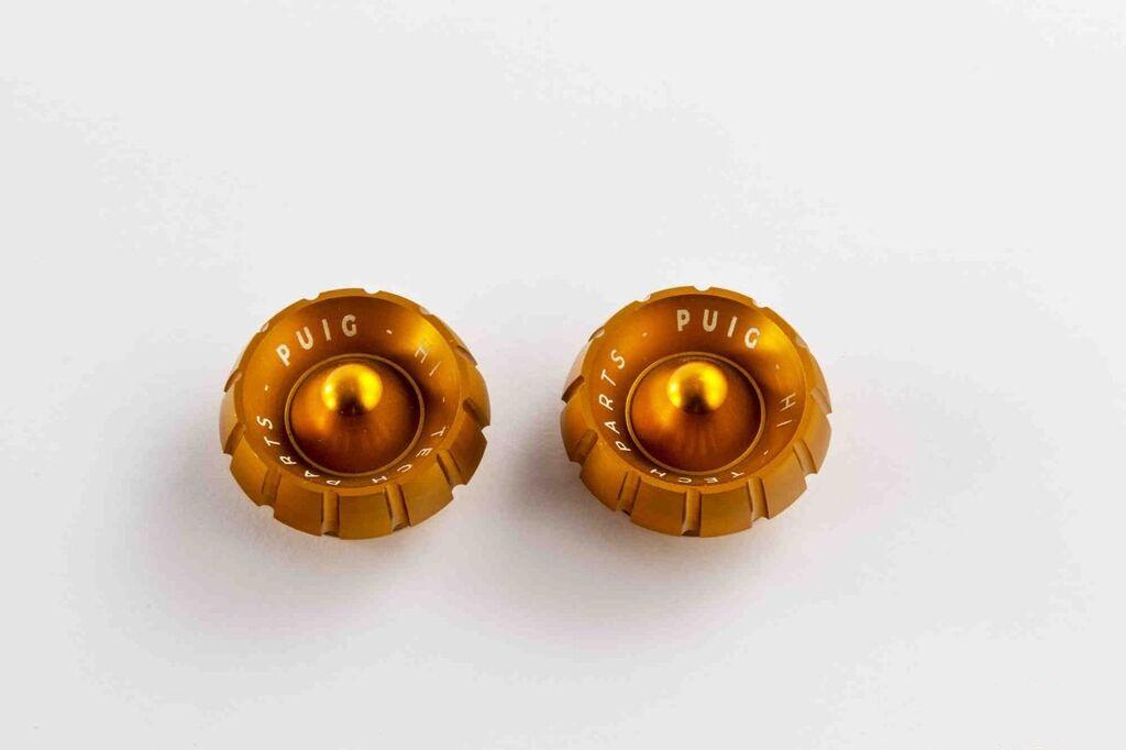 Obrázek produktu Náhradní koncovky PUIG THRUSTER zlatá